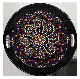 Elk Grove Mosaic Mandala Tray