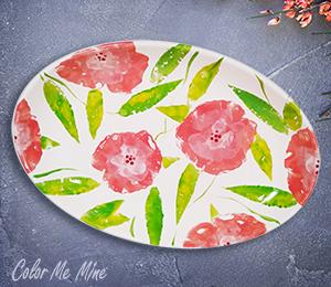 Elk Grove Floral Paper Stamping
