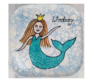 Elk Grove Mermaid Plate