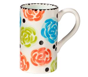 Elk Grove Simple Floral Mug
