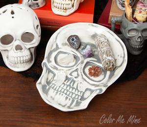 Elk Grove Vintage Skull Plate