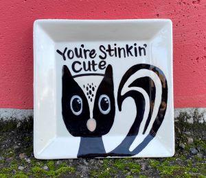 Elk Grove Skunk Plate