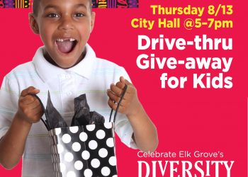 Drive-Thru Give-away for kids. Thursday 8/13 City Hall at 5-7 pm.